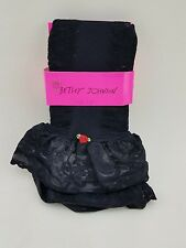 New NWT BETSEY JOHNSON 1 Pair Thigh Highs Tights Lace Size 9-11