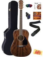 Fender CD-60 Dreadnought Acoustic Guitar - All Mahogany w/ Hard Case