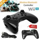 New Wireless Gamepad Joypad Hand Controller Remote For Nintendo Wii U Pro Black