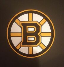 BOSTON BRUINS PRIMARY TEAM LOGO JERSEY PATCH 2014 LARGE FRONT PATCH