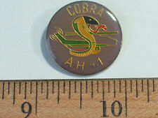 AH-1 Cobra Helicopter Pin Badge    Vintage Enamel Pin
