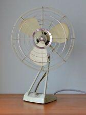 Vintage fan mid century Meidensha mint green No 765