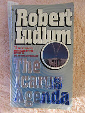Paperback Book  THE ICARUS AGENDA  by  Robert Ludlum