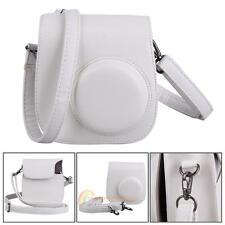 PU Leather Camera Shoulder Case Cover Bag Pouch+Strap For Fujifilm Instax Mini 8