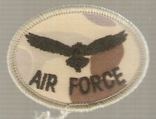AIR FORCE EAGLE PATCH DESERT CAMO SHOULDER TITLE - OBSOLETE