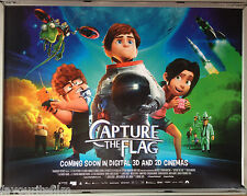 Cinema Poster: CAPTURE THE FLAG 2016 (Quad) Dani Rovira Michelle Jenner
