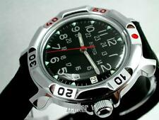 RUSSIAN  VOSTOK MILITARY KOMANDIRSKIE WATCH  # 811783 NEW