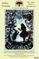 BOTHY THREADS FAIRY TALES ALICE IN WONDERLAND COUNTED CROSS STITCH KIT XFT4 2015