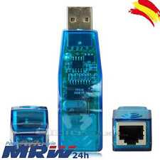 Adaptador Conversor de USB a Red Ethernet RJ45 Tarjeta de Red para Portatil PC