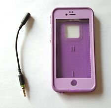 "Lifeproof Fre Waterproof 4.7"" Case For iPhone 6/6S PUMPED PURPLE - with Adapter"