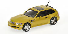 BMW Z3  COUPE  JAUNE METALISE  1999     MINICHAMPS  1/43
