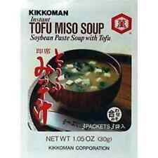 Kikkoman Instant Tofu Miso Soup (Soybean Paste Soup with Tofu) - 9 Packets