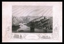 "1st CRIMEAN WAR & ""Balaklava"" - ORIGINAL ca 1858 ENGRAVING"