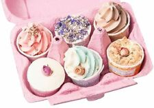 Wild Olive Bath Melts Luxury Box of 6 Bathroom Bombs Spa Gift for Mothers