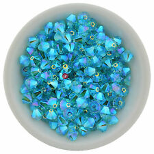 Swarovski Crystal 5328 XILION Bicones 6mm - LIGHT TURQUOISE AB2X (12 PCS)