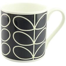 Orla Kiely Quite Big Bone China Mug -  Large Stem Blue