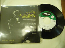 "GERRY MULLIGAN""MY FUNNY VALENTINE  -Disco 45 giri EP VOGUE Fr 1958"""