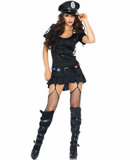 Sergeant Sexy Police Costume for Women size M (8-10) New by Leg Avenue 83952