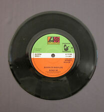 "SG 7"" 45 rpm 1978 BONEY M - RIVERS OF BABYLON / BROWN GIRL IN THE RING"