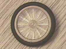 LEGO - Wheel & Tire: Wheel Bicycle, with Black Tire - Trans-Clear