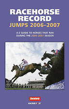 Racehorse Record Jumps: A-Z Guide to Horses That Ran  the 2007-8 Season ebay uk