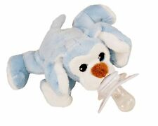 PACI PLUSHIES PLUSH BABY PACIFIER HOLDER P-NUT PUPPY