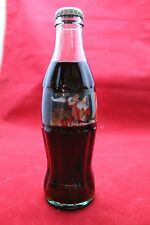 1996 Coca Cola Christmas Bottle Santa and Helicopter