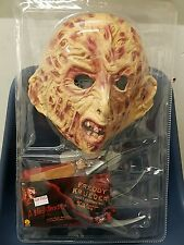 Rubies Nightmare on Elm Street costume Freddy Krueger glove mask jumper
