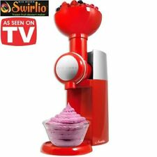 Big Boss 9249 Swirlio Frozen Fruit Dessert Maker, Red, 50 recipes included
