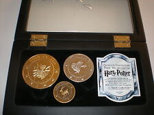The Official Harry Potter Noble Collection The Gringotts Bank Coin Set TM&WBEL