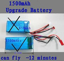 Upgrade Li-po Akku, 1500 mAh, 7,4V  MT200  RC Helicopter, 2,4GHz, Gyro, LCD