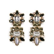 New Banana Republic Statement Pierced Drop Dangle Earrings Gift Vintage Jewelry