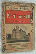 1900 Heywood Guide Book KENILWORTH England Railway Driving Cycling Routes ADS