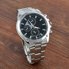 Fashion Men's Date Luxury Army Sport Stainless Steel Quartz Analog Wrist Watch