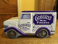Vintage Cadbury's Mini Fingers Tin Van