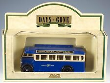 Lledo Days Gone 1932 AEC Regal S.D. Bus Royal Blue Coach Service Made In England