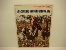 Vintage 1965 Winchester Western Sporting Firearms Ammo Catalog Rifles 39 pages