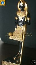 "ANCIENT EGYPTIAN GODS PHARAOH GUARDIAN DEITY 6"" TALL STATUE FIGURINE"