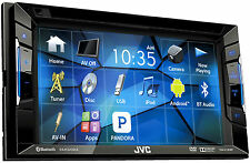 "JVC Refubished KW-V120BT BT/DVD/CD/AM/FM Stereo w/ 6.2"" Touchscreen and Pandora"