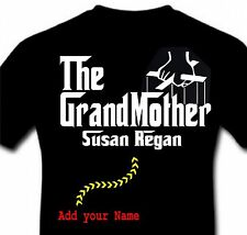 Personalized The Grandmother Funny Mother's Day Grandma Godfather T-shirt