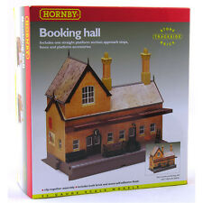 R8007 Hornby Model Railway Train Accessories Booking Hall Kit OO Gauge New Boxed