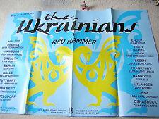 THE UKRAINIANS & REV HAMMER orig GERMAN TOUR-POSTER A1 (84 x 59,5 cm)