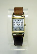 Hamilton Wristwatch Registered Edition Wilshire New Yorker Dial 18K Gold Plate