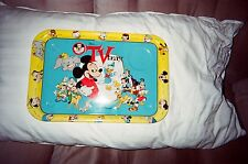 Disney and Mickey Mouse TV Serving Tray - Circa 1954-55 - Vintage