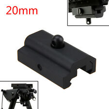 Bipod Sling Swivel Adapter Weaver Picatinny 20mm Rail Mount For Rifle Gun
