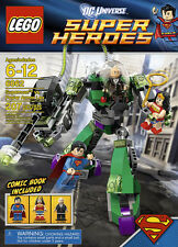 LEGO DC Superheroes - Rare - Superman Vs Lex Luther 6862 - New (w/ box wear)
