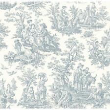WALLPAPER BY THE YARD Waverly Wallpaper WA7830 Country Life Toile