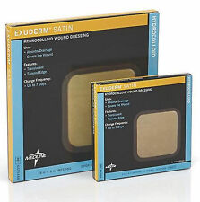 "Exuderm Satin Hydrocolloid Wound Dressing by Medline: 4"" x 4"" - Box of 10"