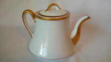 Limoges Depose France G. Ahrenfeldt  Tea Pot Gold Edging