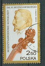 Polen Briefmarken 1981 Geiger- Wettbewerb Mi.Nr.2771